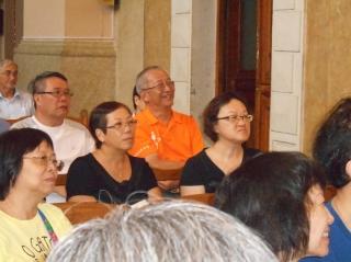 Goscie z oblackiej parafii z Hong Kongu (22 lipca 2014 roku)