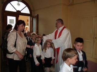 Msza Św. na rozpoczęcie nowego roku szkolnego dla Szkoły św. Marii Magdaleny 2014/2015