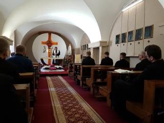 Pielgrzymka oblatów z Ukrainy na Święty Krzyż