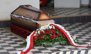 Powtórny pochówek ks. Gerarda Szmyda
