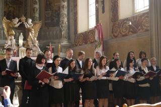 Występ chóru z parafii Św. Mikołaja w Kijowie